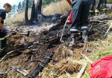 V Račkovej doline zasahovali hasiči