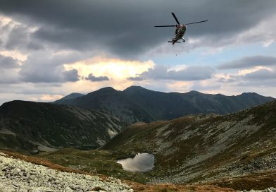 V Západných Tatrách zasahoval záchranársky vrtuľník