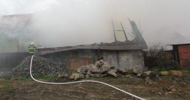 Požiar stolárskej dielne na Liptove