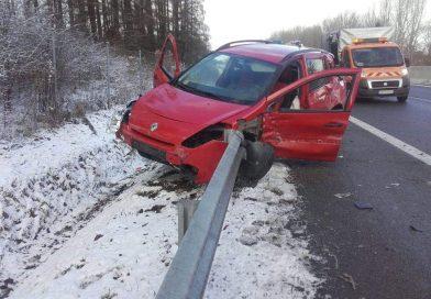 Nehoda na diaľnici D1