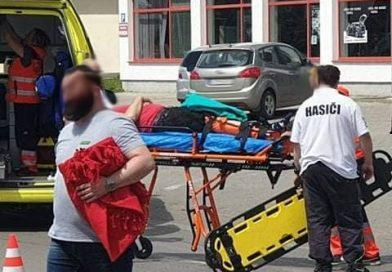 Hasiči videli nehodu motorkára, zachovali sa ukážkovo