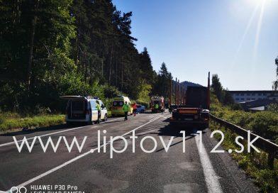 Vážna nehoda v Liptovskom Hrádku