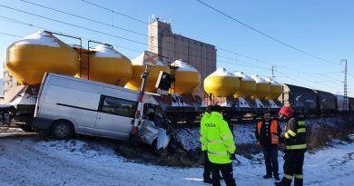 Vlak sa zrazil s autom