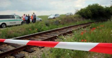 Nákladný vlak usmrtil neznámeho muža